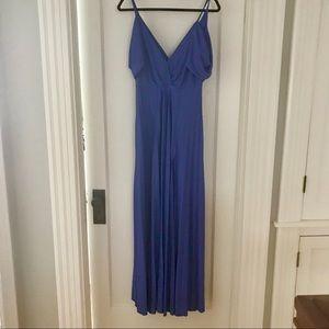 3b33ef96b9 ASOS Dresses - ASOS cold shoulder cowl back pleated maxi dress
